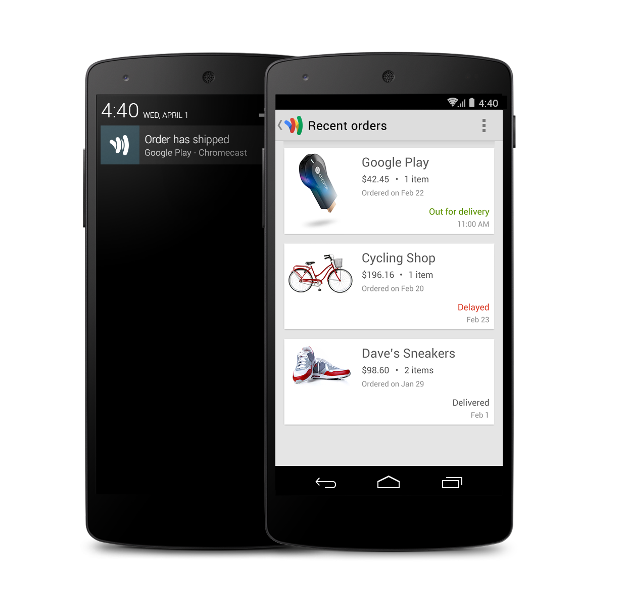 Google Wallet for Android and iOS Gets Online Order