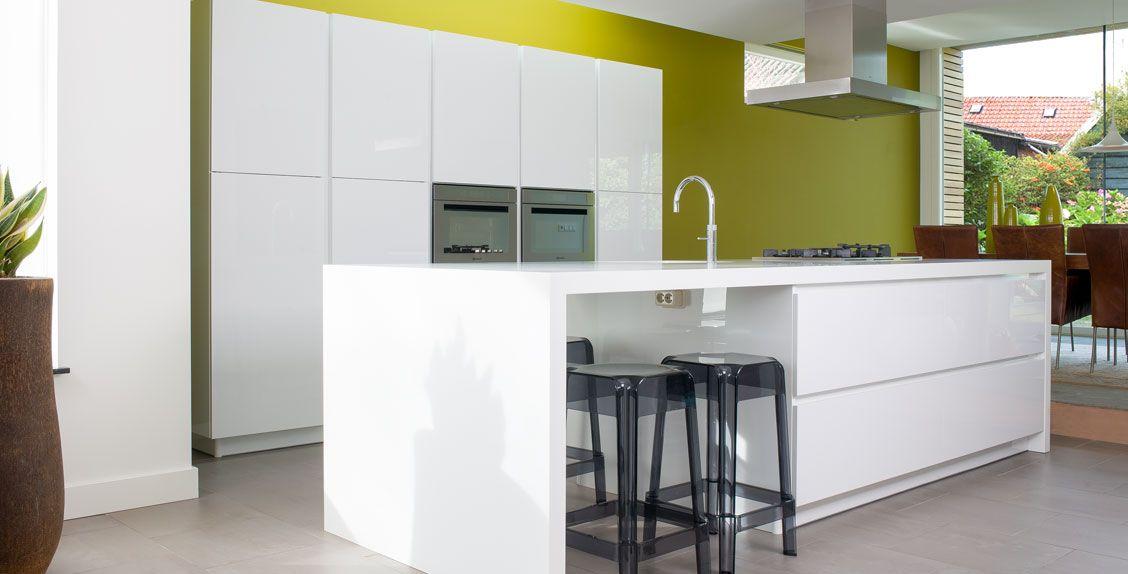 Wit blad mooie keukens pinterest modern