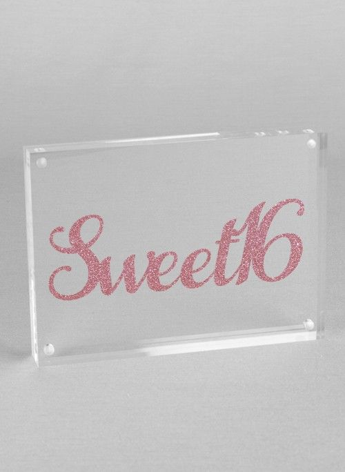 Enchanting Sweet 16 Picture Frame Pattern - Ideas de Marcos ...