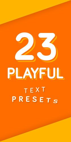 Playful Text Animation Presets | Adobe After Effects | Text