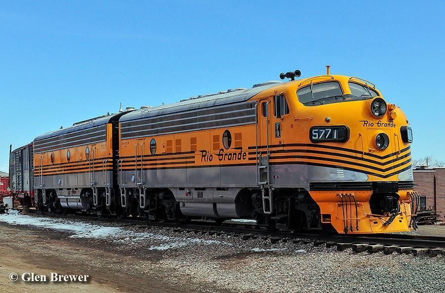 Emd F7 Railroad Photos Diesel Locomotive Train Engines