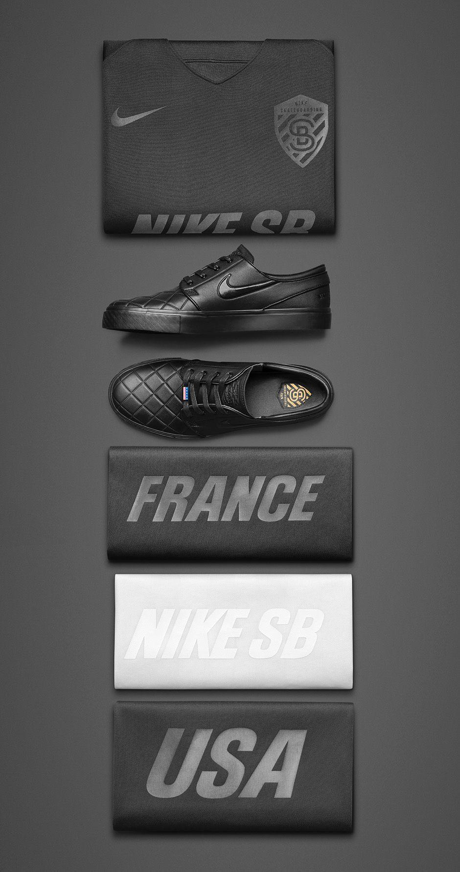Nike SB Zoom Stefan Janoski EliteBaskets Multicolore