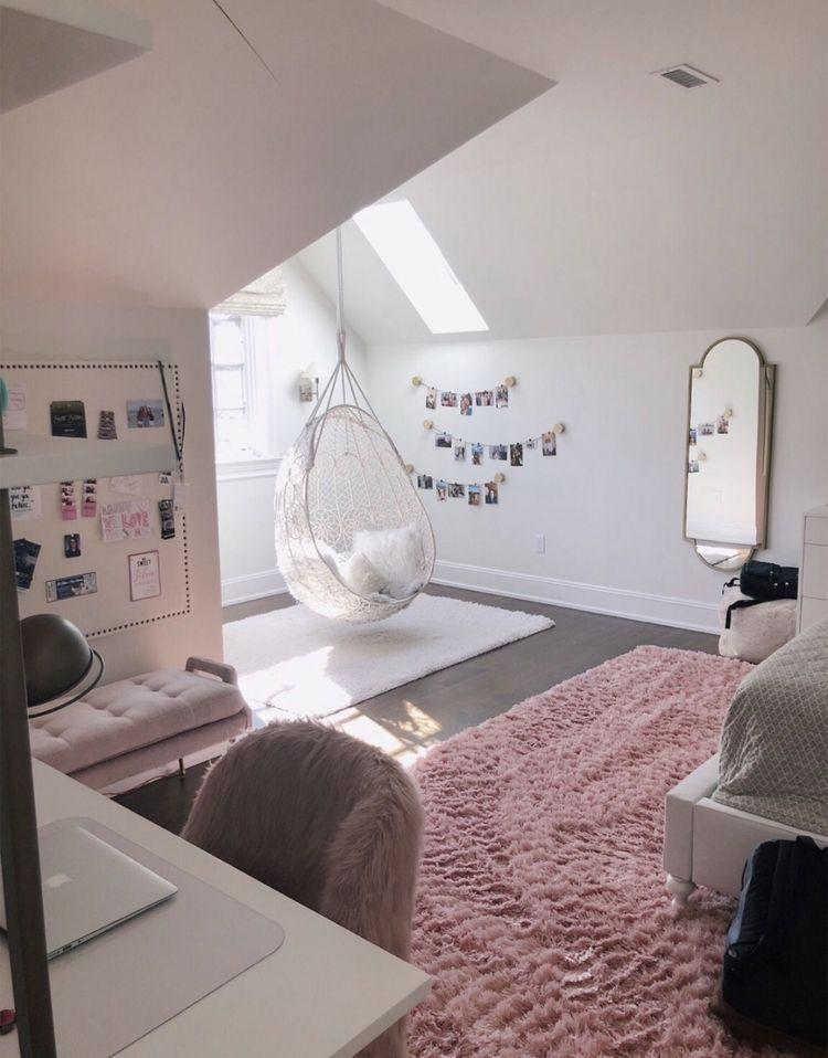 35 Most Trending Teenage Bedroom Ideas Small Apartment Bedrooms Aesthetic Bedroom Room Decor