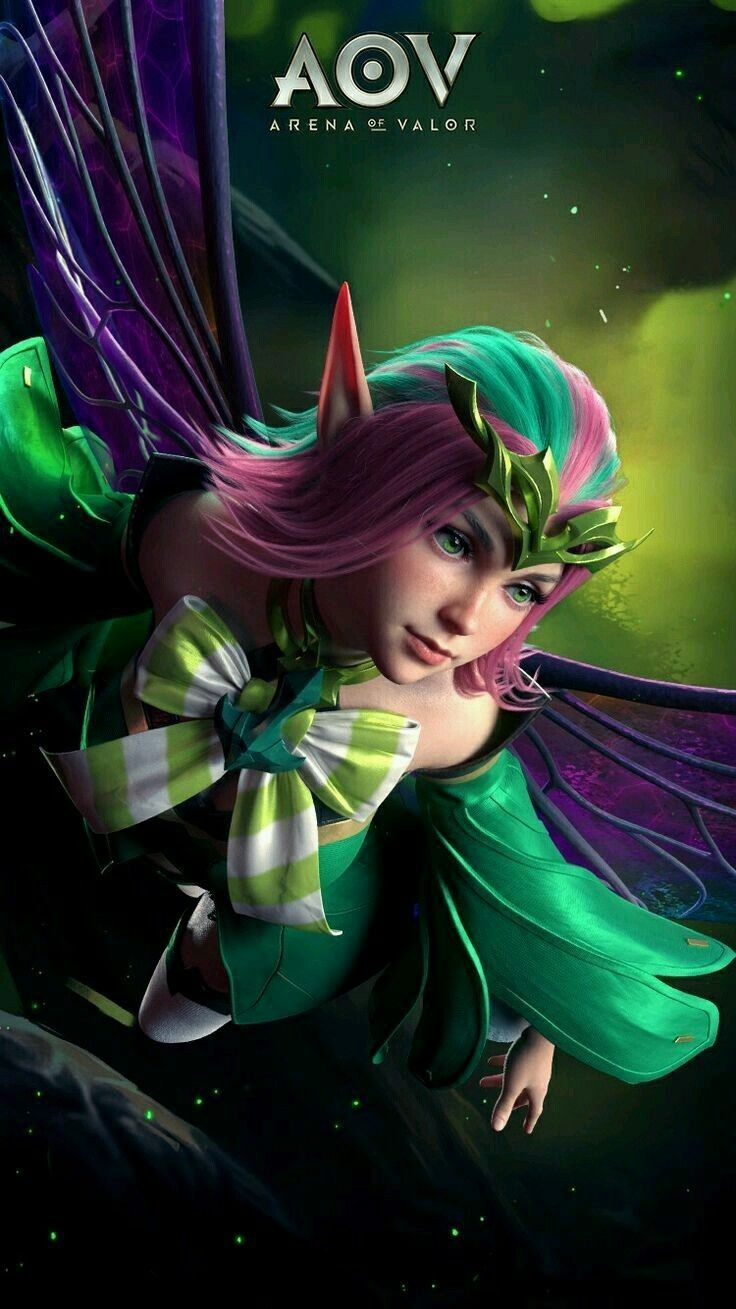 Krixi Mage Arena Of Valor Rov Wallpaper In  Pinterest Games Mobile Legends And Fantasy
