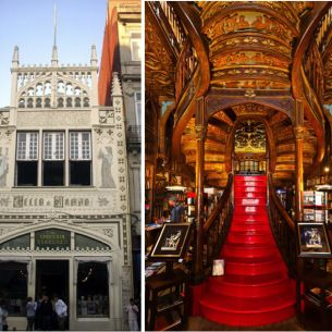 Livraria-Lello  Harry Potter's Porto Connections by Jodi on Thu, 10 Oct, 2013   It's obviously a celebrated fact in Porto, but JK Rowling moved to Porto, Portugal in 1991 to work as an English teacher in a language institute after her first marriage ended.