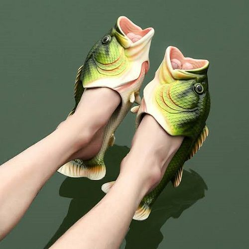 Realistic Fish Sandals - mrtopbuy.com