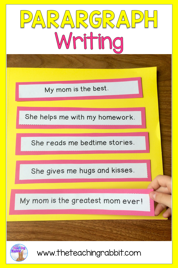 Writing Paragraphs The Teaching Rabbit Paragraph Writing Activities Paragraph Writing Teaching Paragraph Writing [ 1134 x 756 Pixel ]
