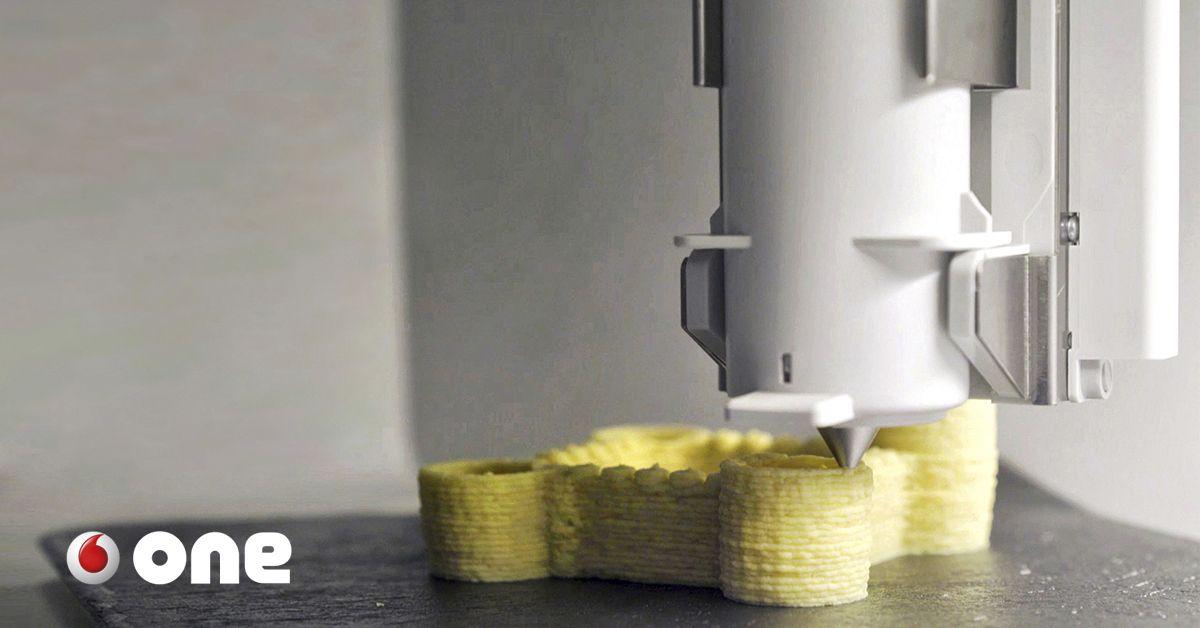 Nuestro Proximo Cocinero Sera Una Impresora En 3d One Vodafone