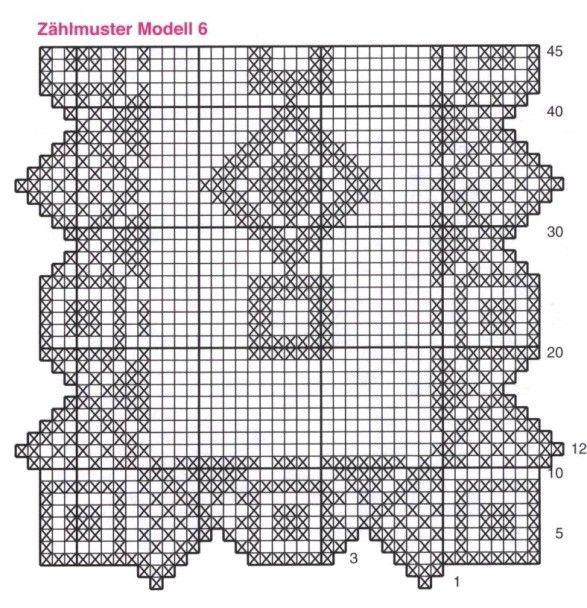Napperons rectangulaires napperons napperons - Napperon crochet grille gratuite ...