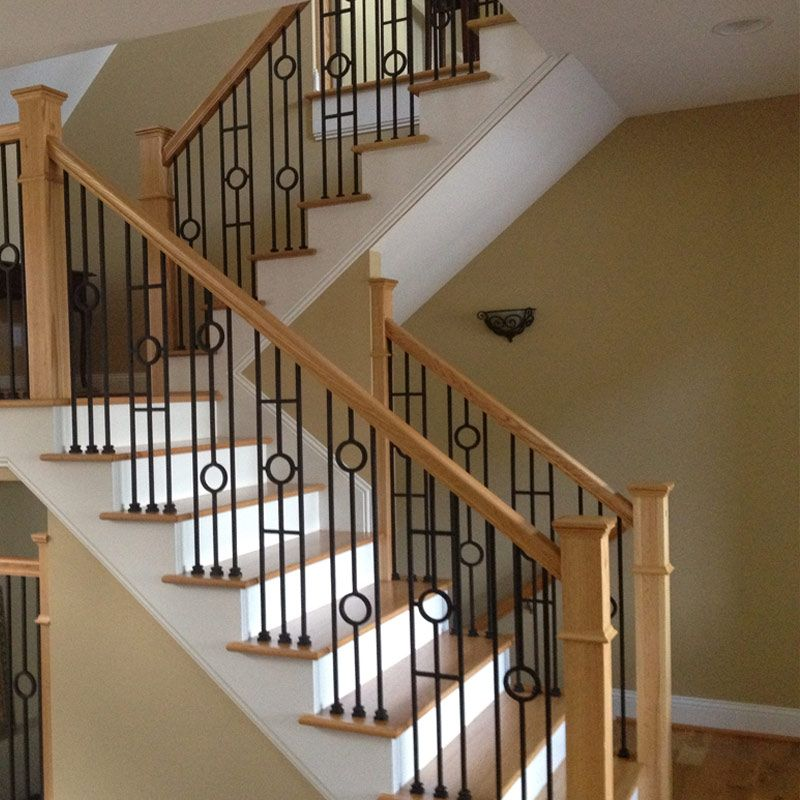 Choosing Wood Or Wrought Iron Balusters For Your Home Merdivenler