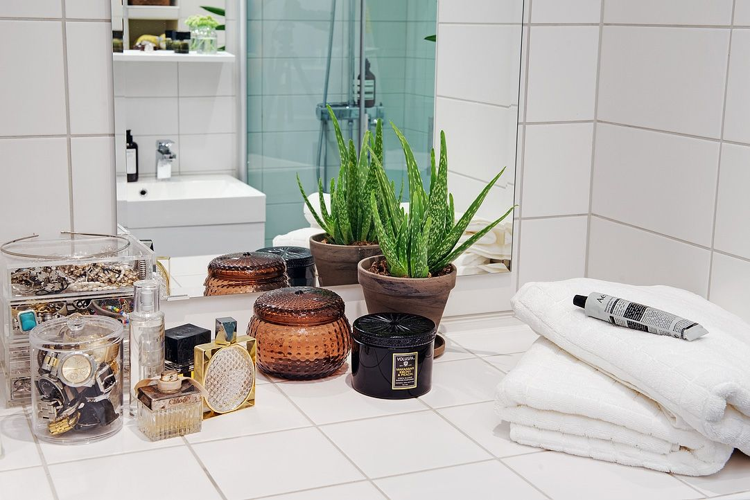 bathroom vanity styling  decor inspiration bathroom