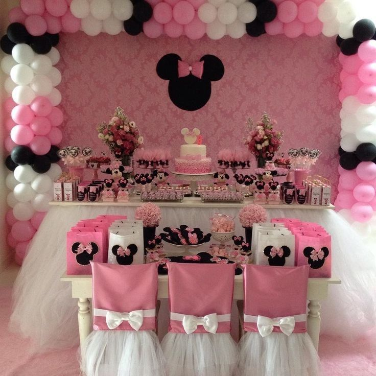 Minnie Mouse Birthday Theme Party Mickey Fiesta 2nd