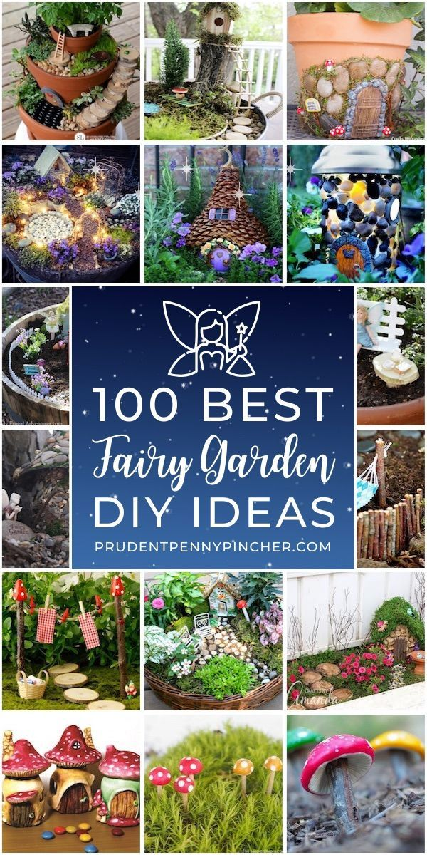 Make your own whimsical fairy garden with these creative DIY fairy garden ideas for inspiration. There are easy fairy garden ideas for containers, outdoors, and indoors.