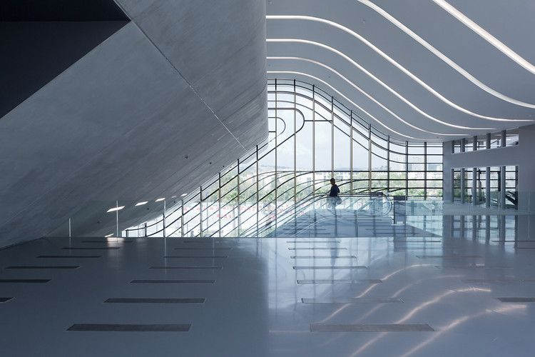 Zaha Hadid's New Building: Like An Infographic Made Of Concrete