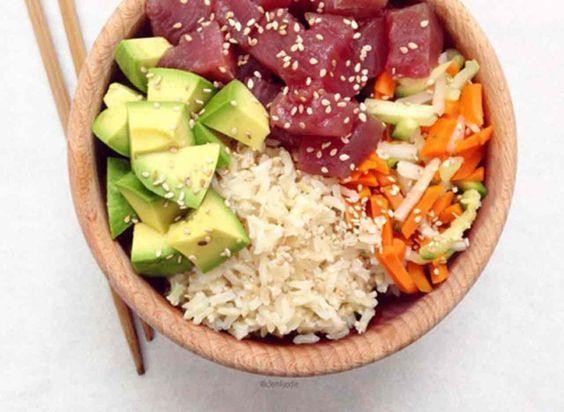 Le Poke bowl, la nouvelle tendance healthy venue d'Hawaï -