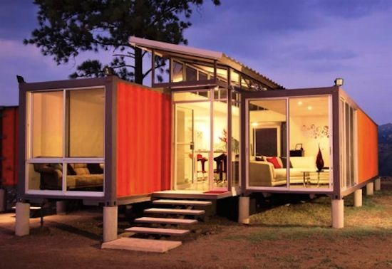 Build this beautiful shipping container house for only $40K