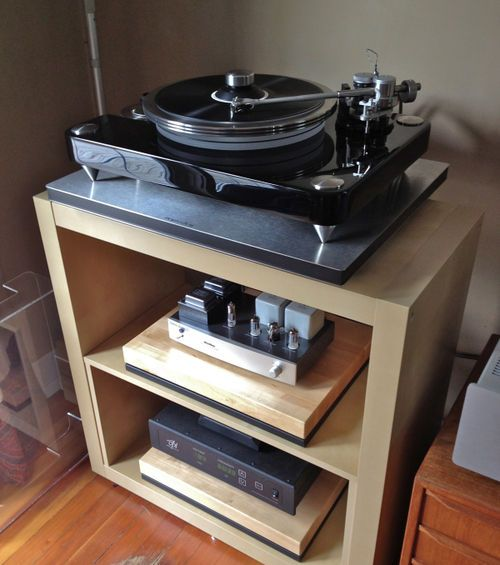 VPI Aries II and VPI SDS with an Eastern Electric phono stage