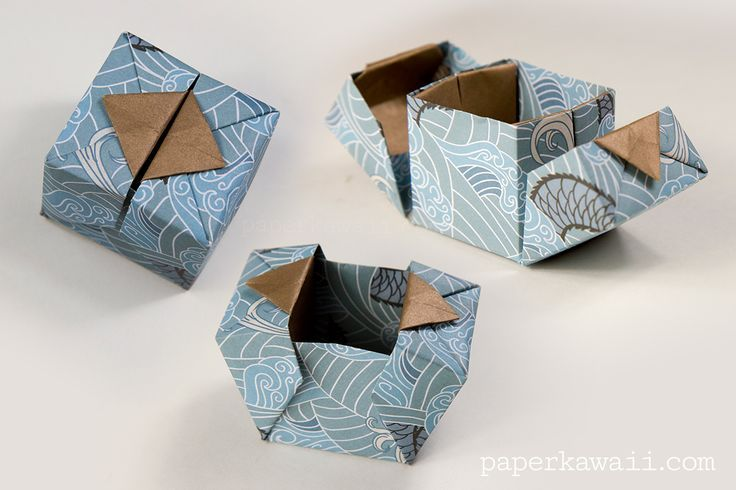 Photo of Origami hinged box video tutorial – DIY paper blog