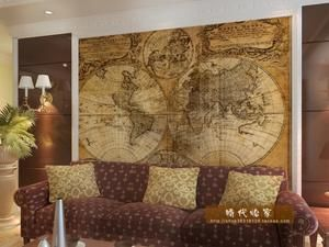 Old world map wallpaper murals 39 5x49 tall to 9x11 5 feet can old world map wallpaper murals 39 tall to 5 feet can custom size gumiabroncs Images