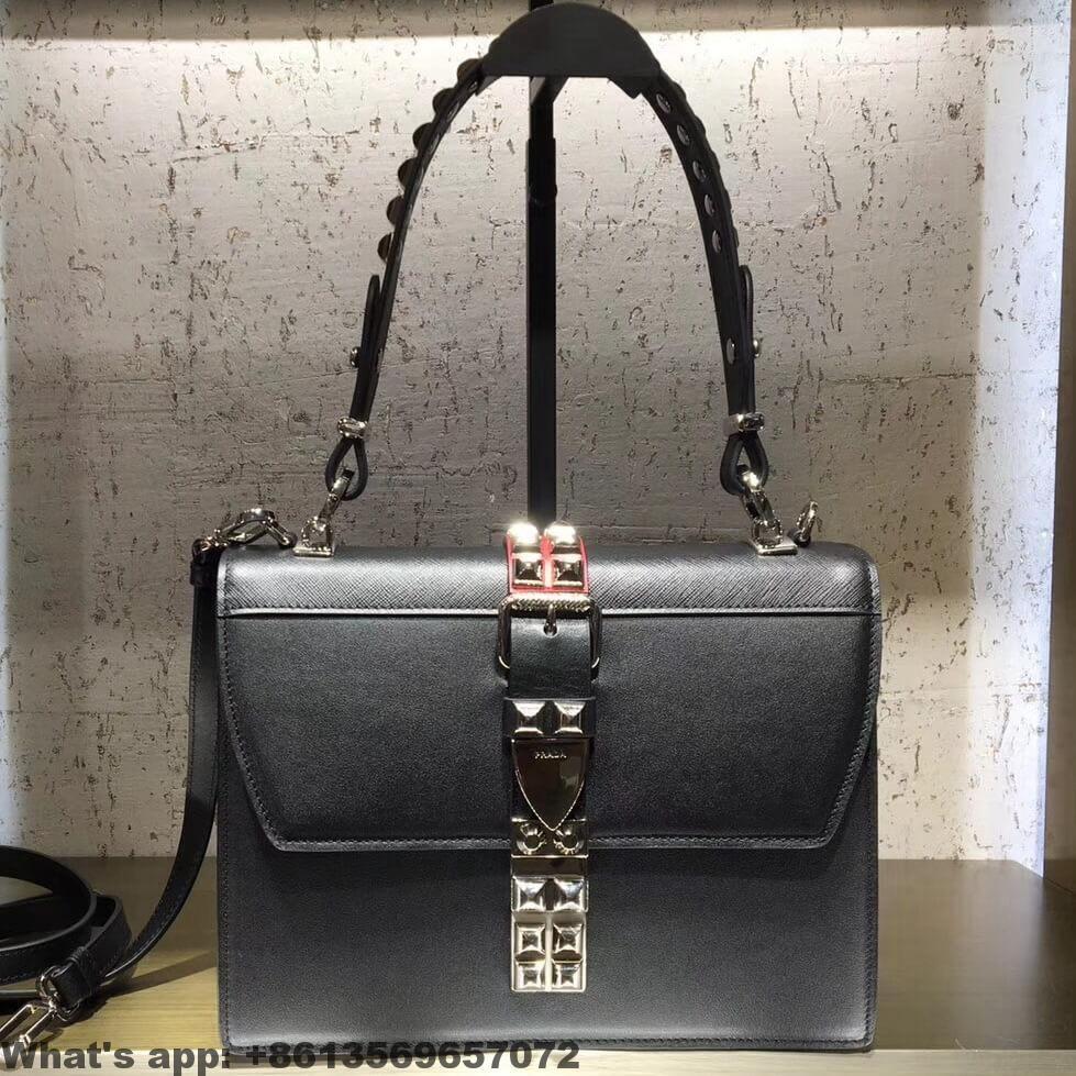 8327005fb338 Prada Elektra Leather Shoulder Bag 1BA179 2018 | Prada | Leather ...