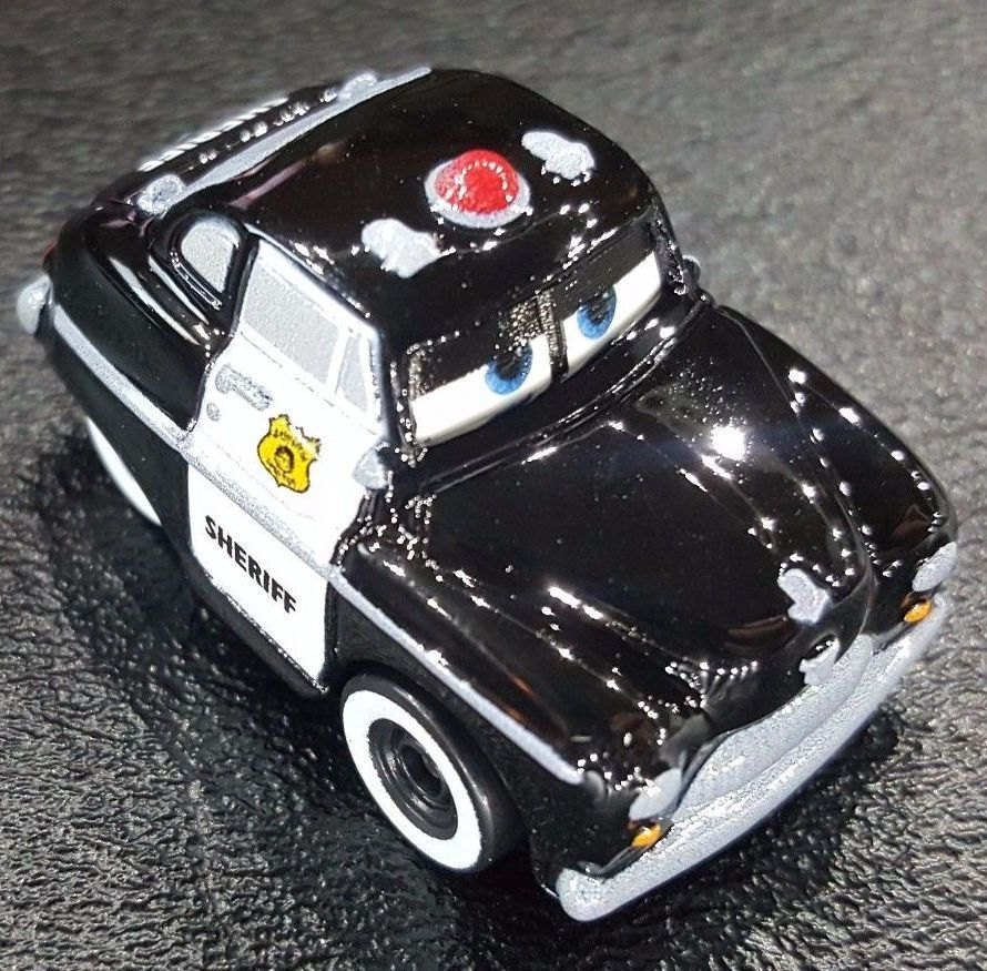 Disney Pixar Cars 3 Die Cast Mini Racers Sheriff Mattel Disney