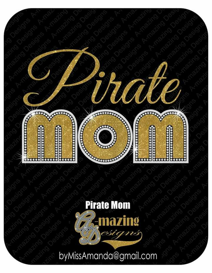 Pirate Mom - fully customizable by A-mazing Designs  Interested in customized shirts and accessories?  Contact byMissAmanda@gmail.com