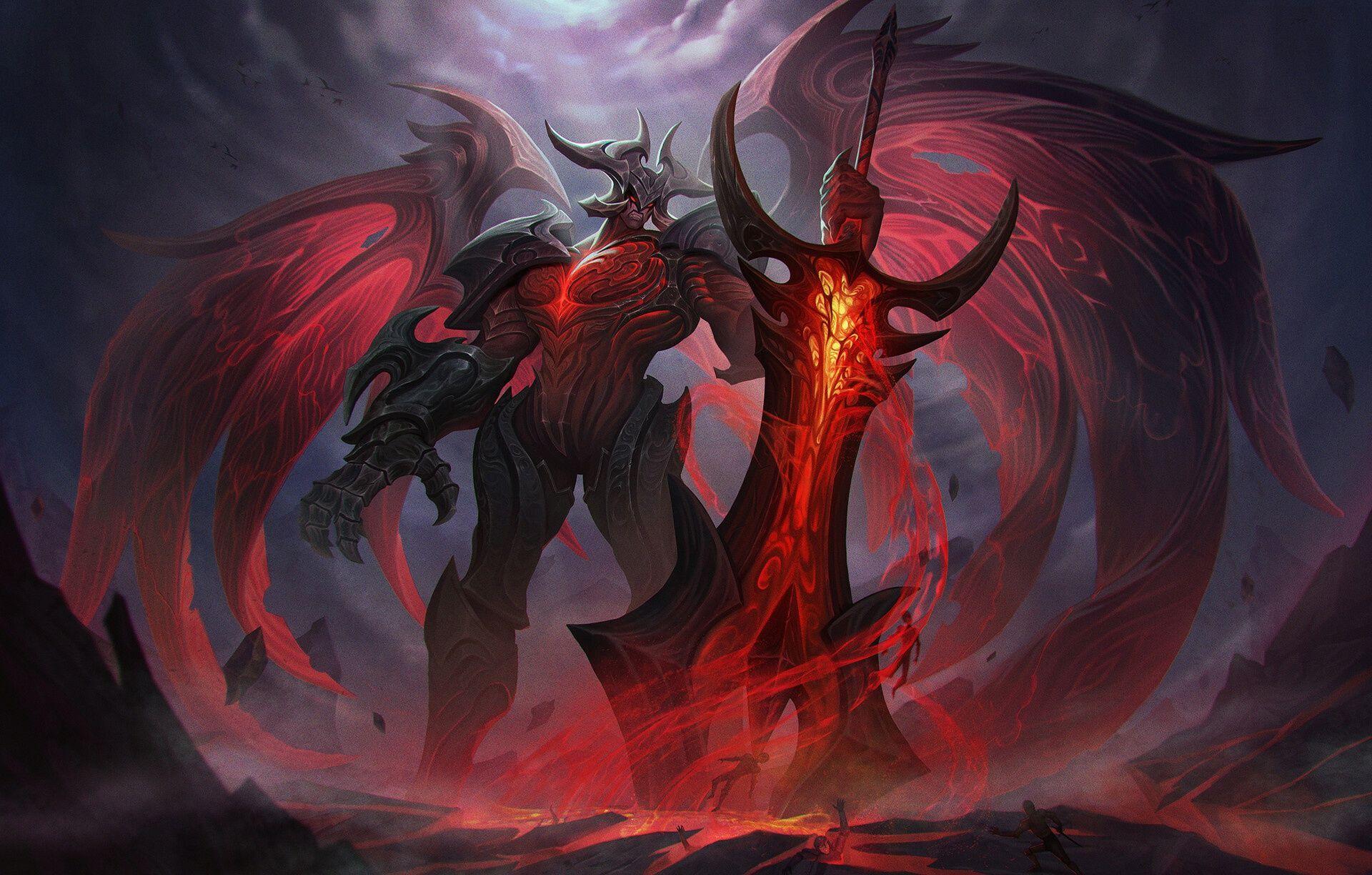 Video Game League Of Legends Sword Demon Aatrox HD Wallpaper Background  Image in 2020 | Wallpaper backgrounds, Lol league of legends