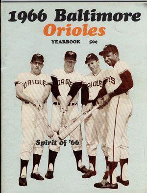 17+ 1966 orioles information