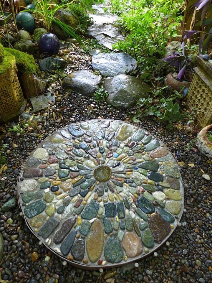 Jeffrey Bale Pebble Mosaic Pebble Mosaic Mosaic Garden