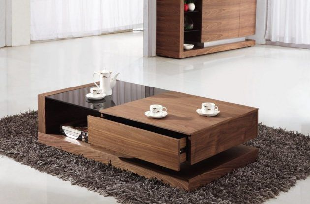 19 Really Amazing Coffee Tables With Storage Space Wooden Coffee