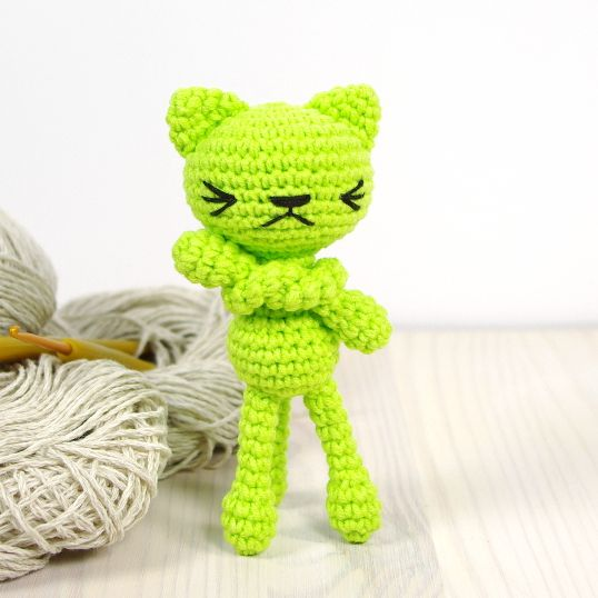 Free croche cat pattern | Crochet and knitting | Pinterest