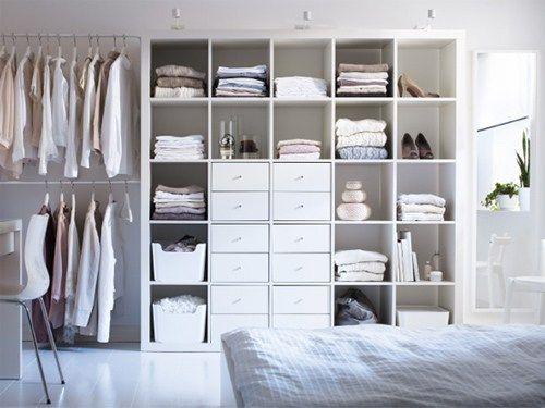 vous souhaitez crer un dressing dans une chambre et avec un petit budget voici 19 - Faire Un Dressing Dans Une Chambre