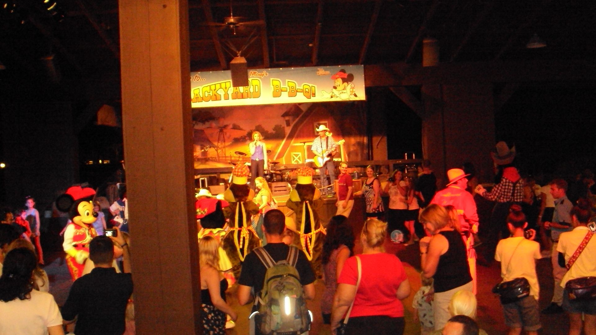 disney camp wilderness backyard bbq great party all you can eat