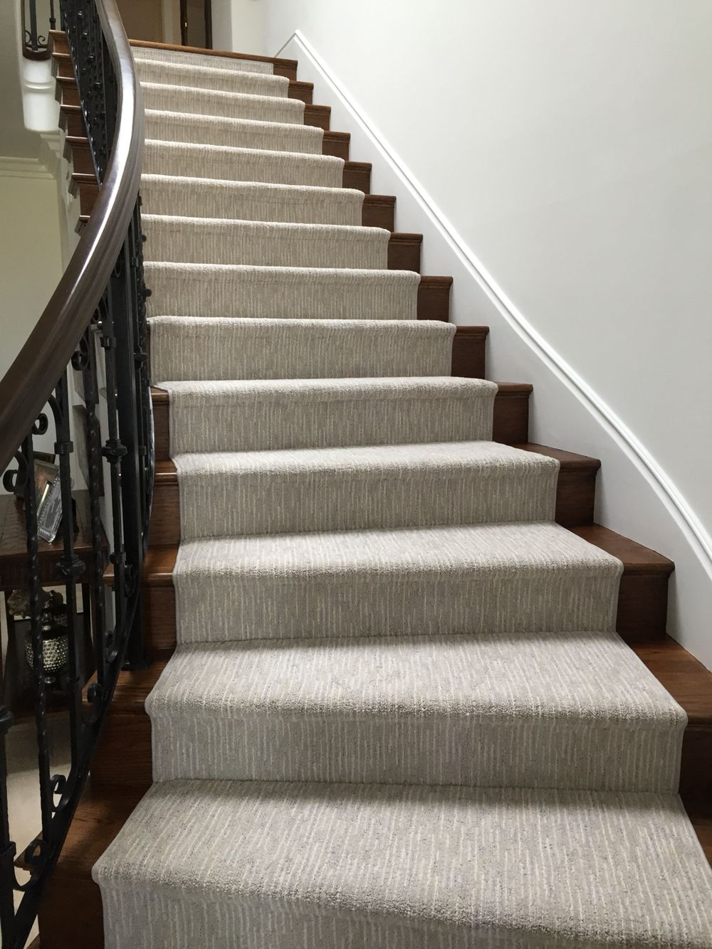 Masland Stainmaster Carpet Fabricated Into A Stair Runner