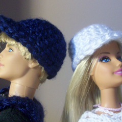 Fashion Doll Caps ~ FREE Crochet Pattern