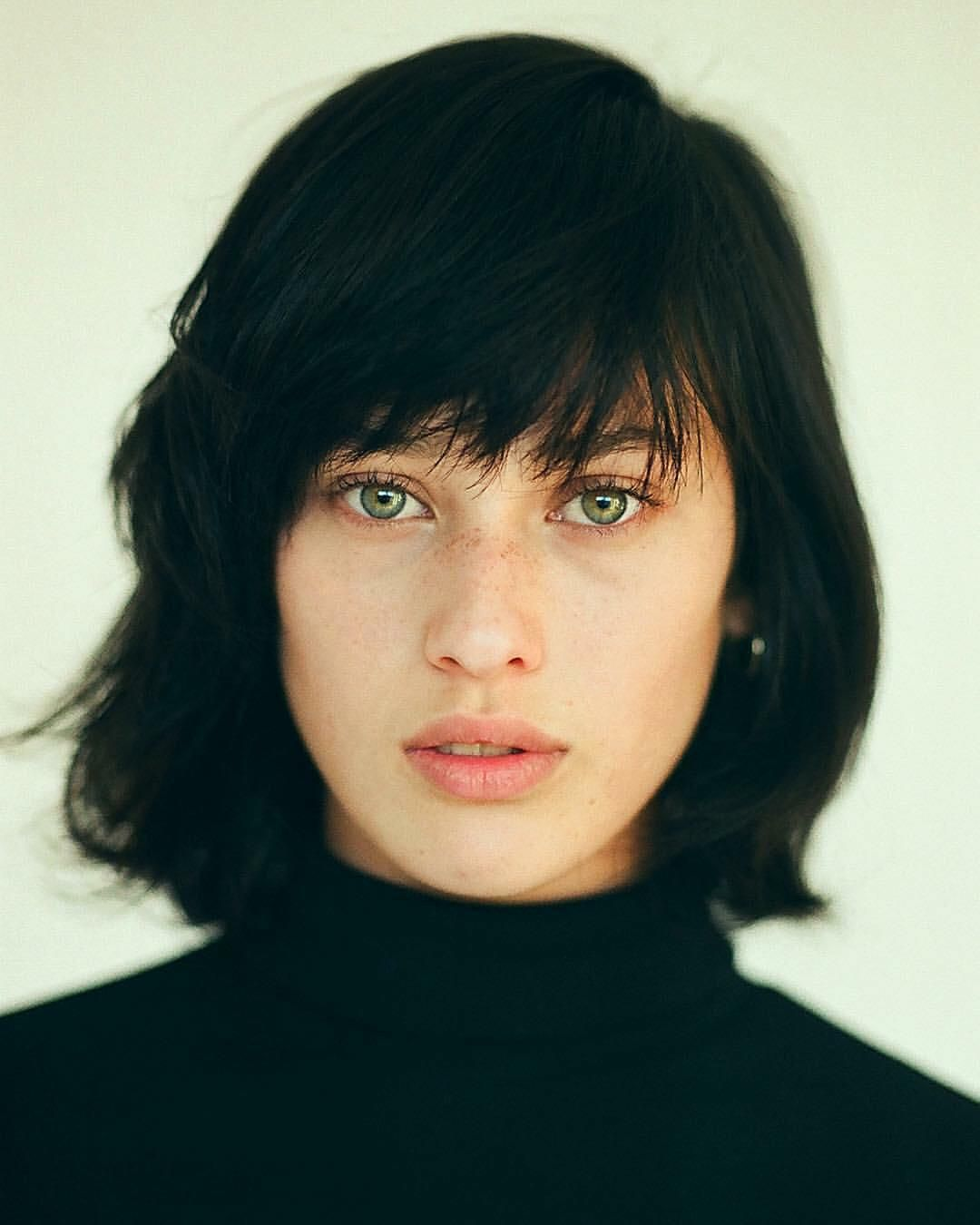 Ohlydiagraham Hair Colour For Green Eyes Black Hair Green Eyes Cool Hair Color