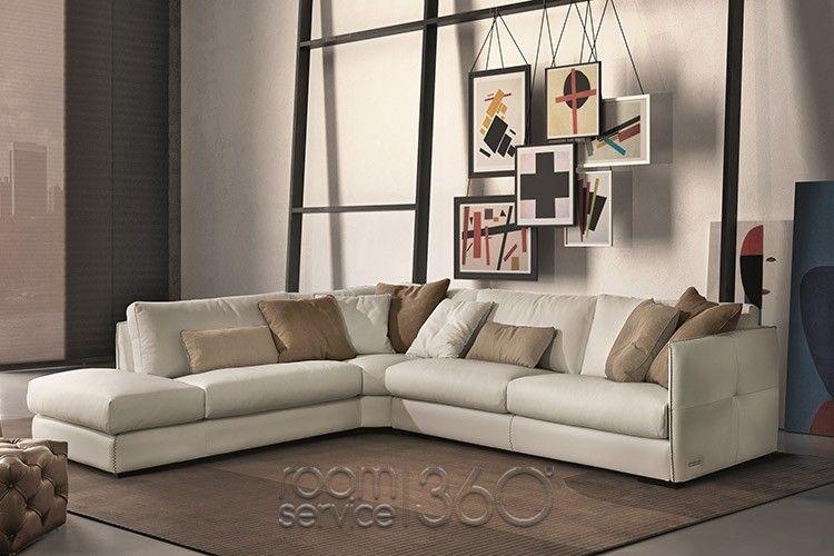 Alfred Italian Sectional Sofa by Gamma Arredamenti ...