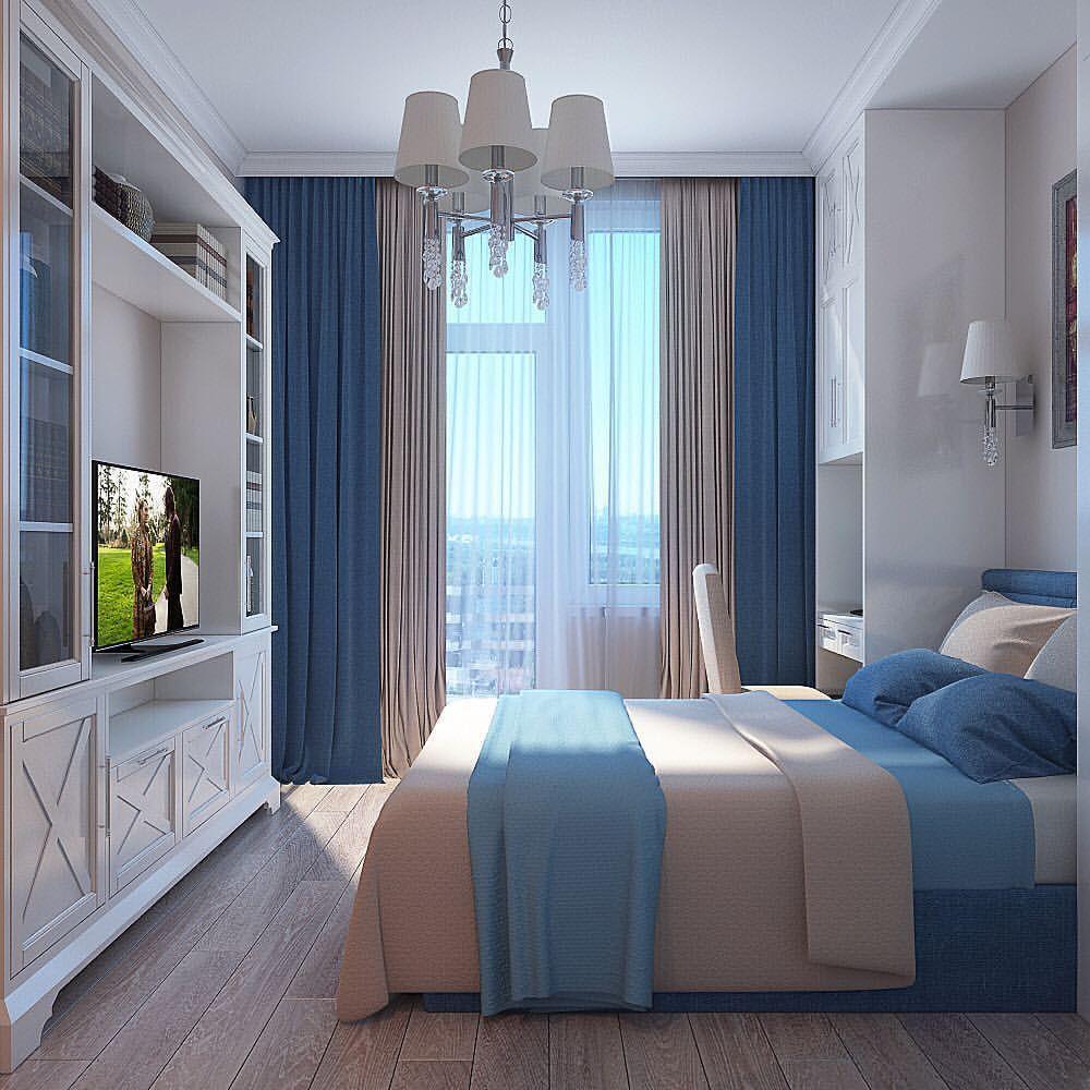 Hamptons Inspired Luxury Home Master Bedroom Robeson: #спальня #жкквартал918 #современнаяклассика