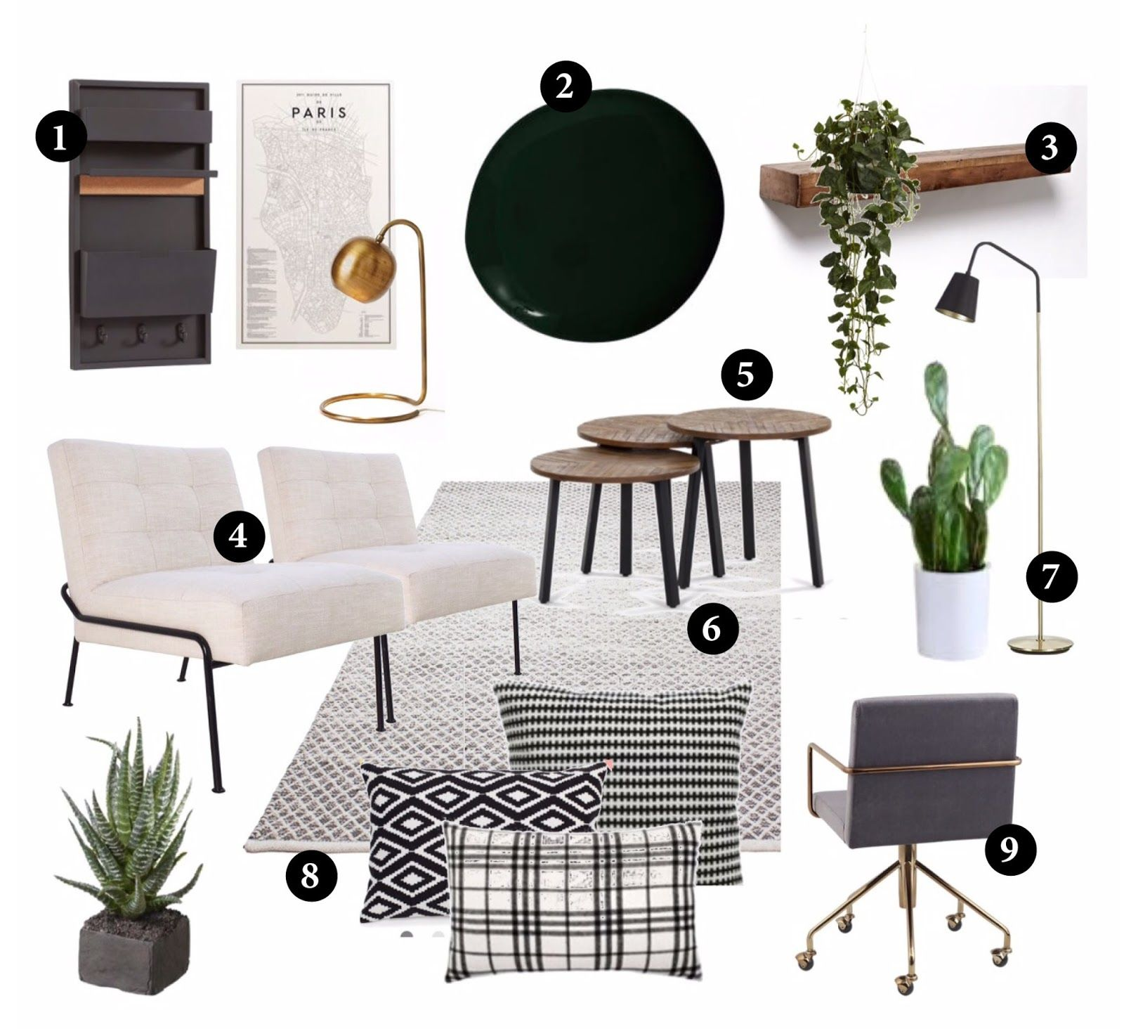 22 Scandinavian Home Office Designs Decorating Ideas: Moody Scandinavian Chic