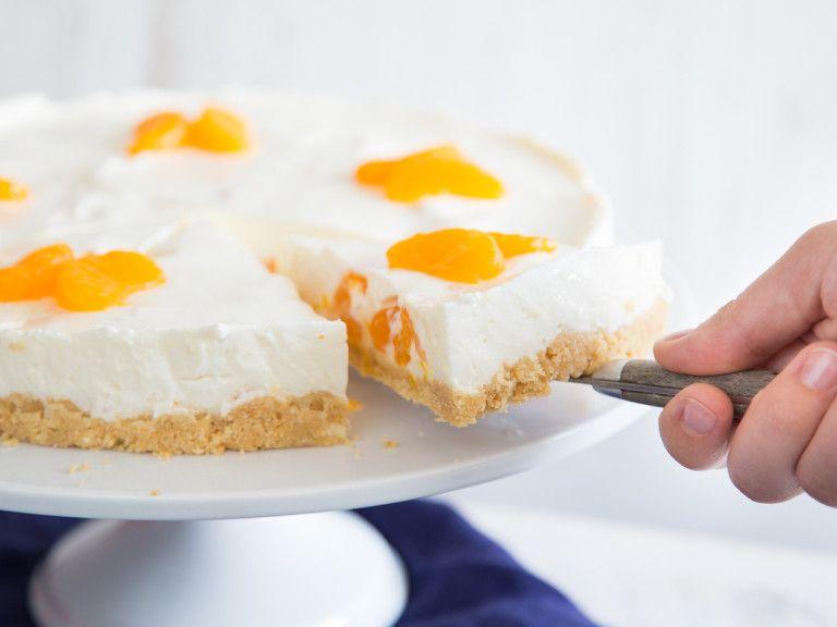 Wenn Mandarinen Zum Star Deiner Philadelphia Torte Werden Rezept Philadelphia Torte Kuchen Und Torten Einfacher Nachtisch