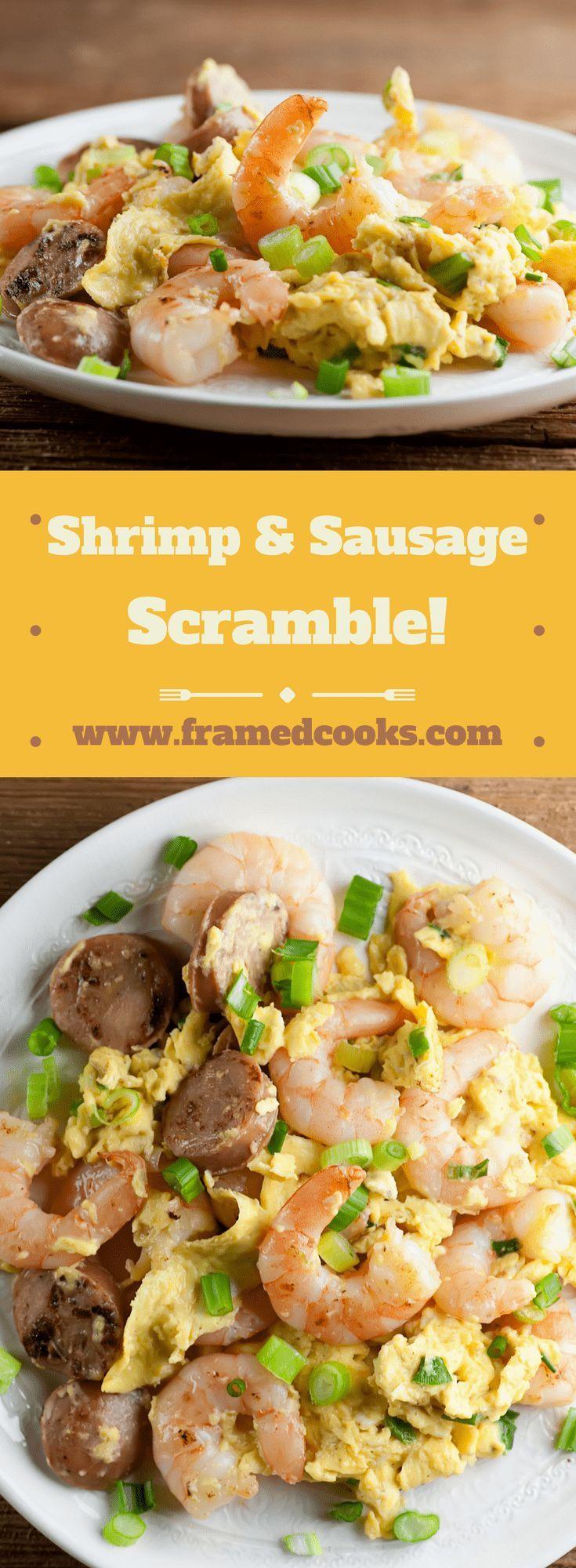 Shrimp and Sausage Scramble images