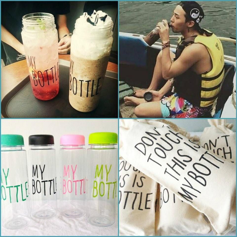 Ready Stock My Bottle Color Botol Minum Korea Yang Lagi Hits Warna