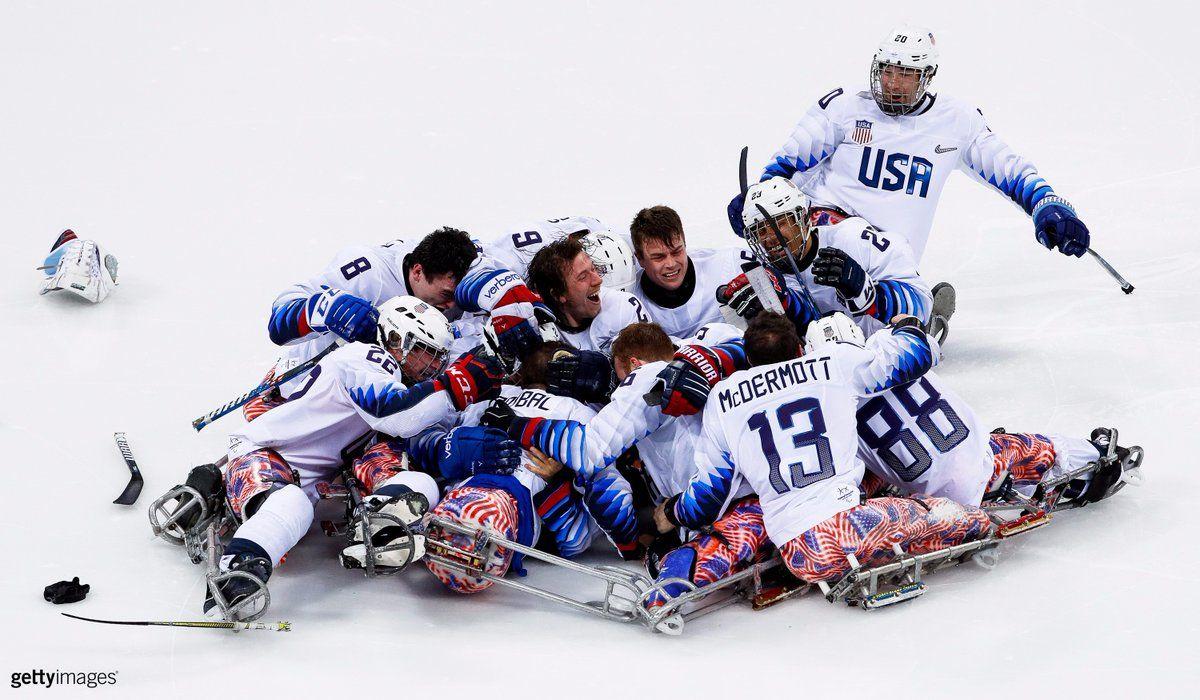 U.S. Paralympics on Sled hockey, Team usa, Hockey