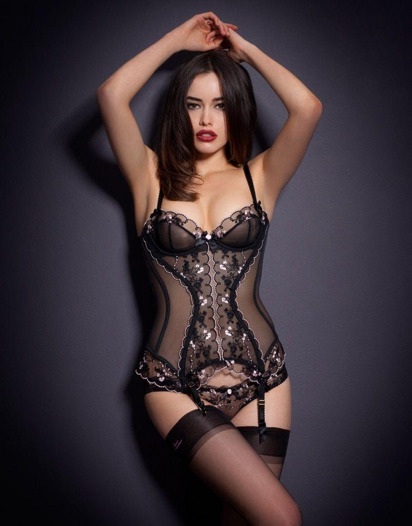 Sexy lingerie set hidden pleasures