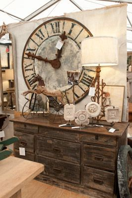 Quality Offerings Are Paramount At Marburger Farm Show Antique Trader Aesthetic Room Decor Clock Decor Ranch Decor