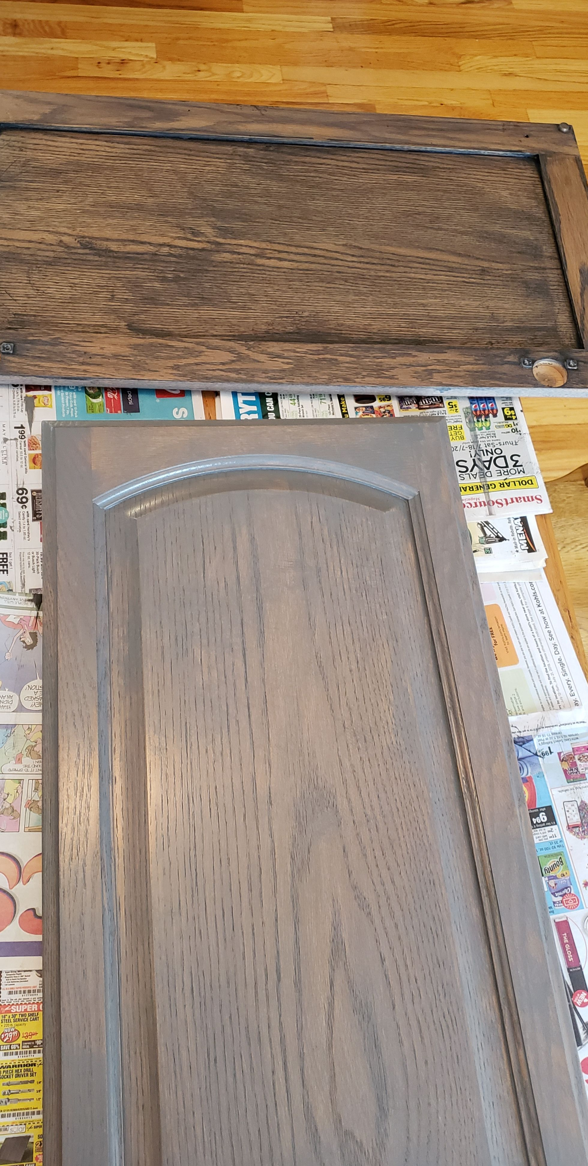 Best I Tested The New General Finishes Gel Stains On Golden Oak 400 x 300