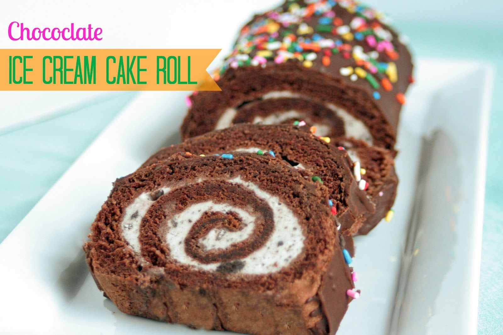 Chocolates And Ice Creams Ice Cream Cake Roll Recipe For