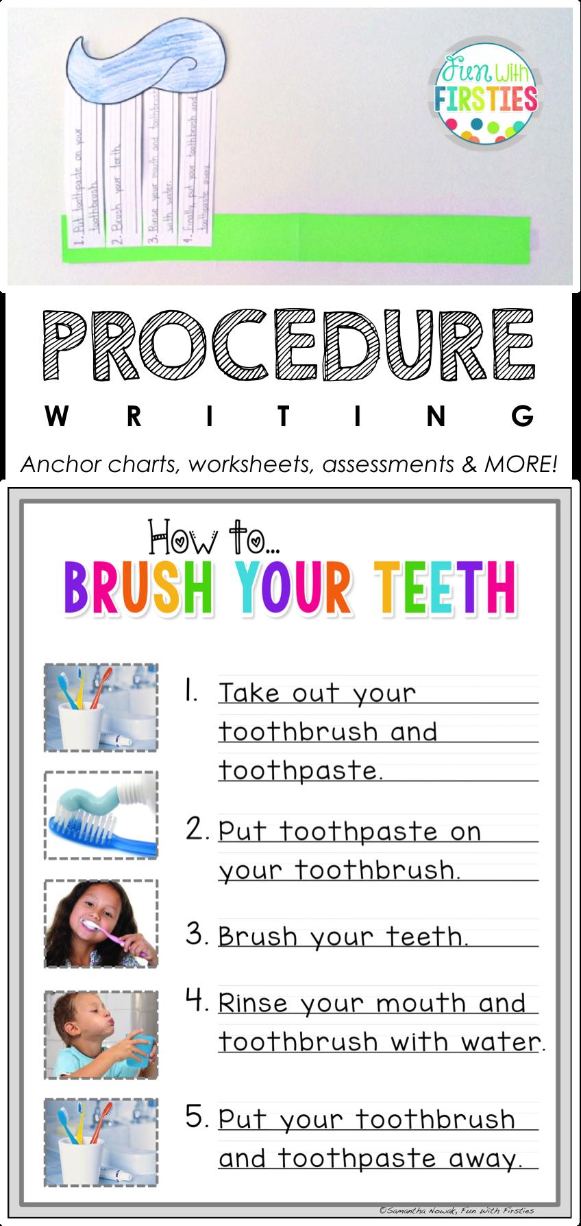 Writing Focus #6: Procedure / How To Writing   Procedural writing [ 1787 x 848 Pixel ]