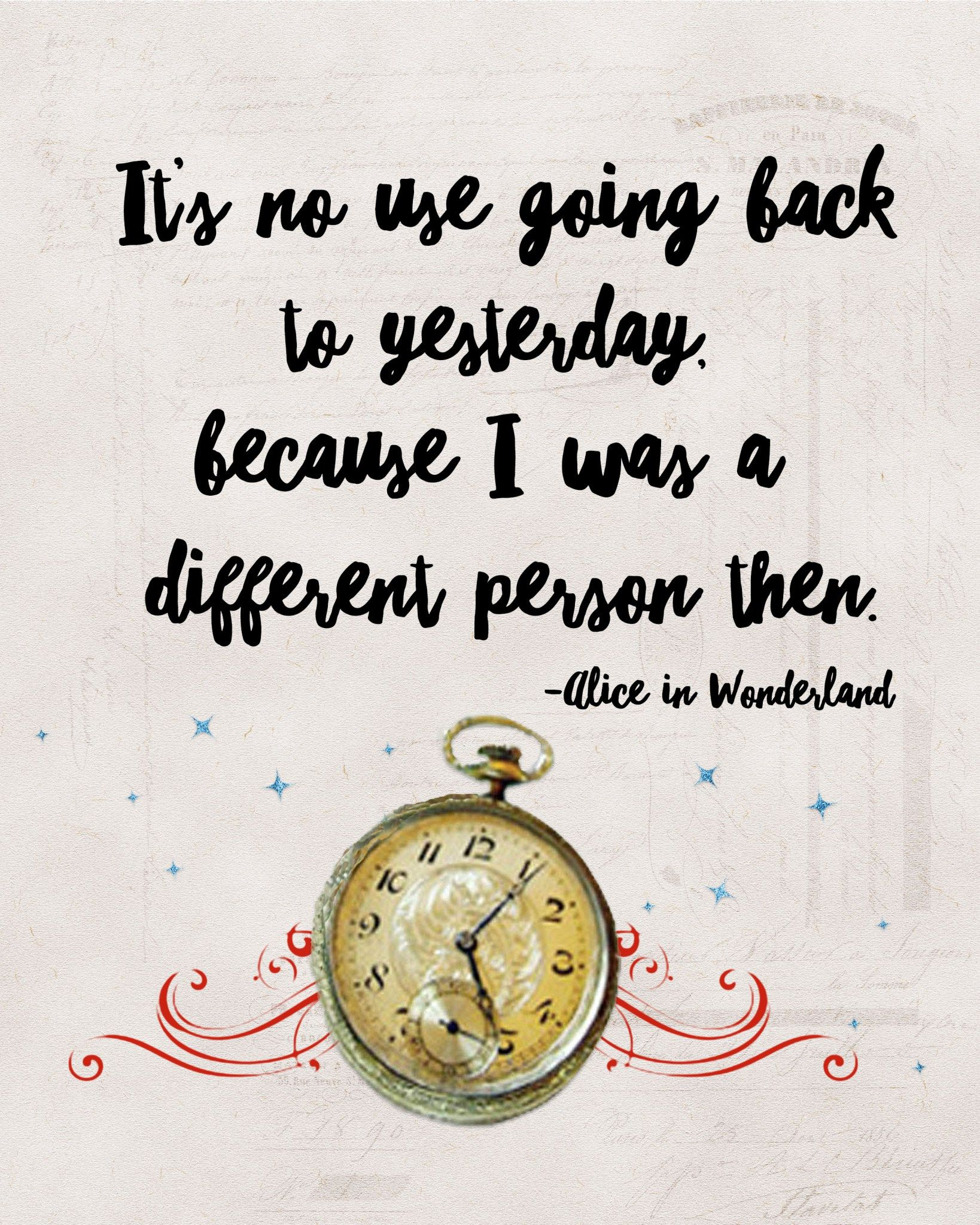 Alice In Wonderland Quote Alice In Wonderland Printables  Alice Printing And Free