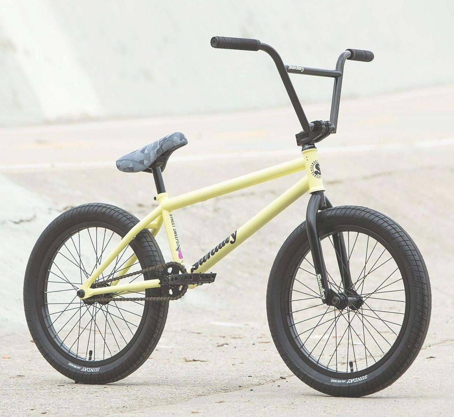 2020 Sunday Street Sweeper 20 Bike Matte Notepad Yellow